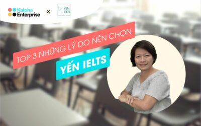 Có gì đặc biệt trong lớp học IELTS cá nhân hoá của cô YẾN IELTS?