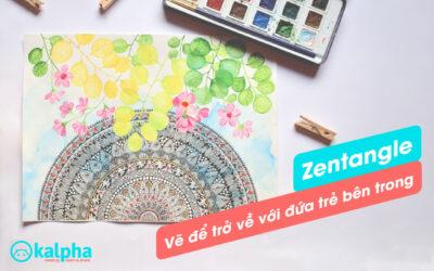 """Zentangle – Vẽ thiền để """"trở về với đứa trẻ bên trong"""""""